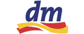 Logo trgovine DM - Drogerija, kozmetika