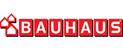 Logotyp Bauhaus - Hus och trädgård