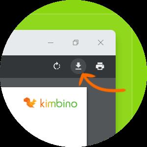 Nálepky Kimbino